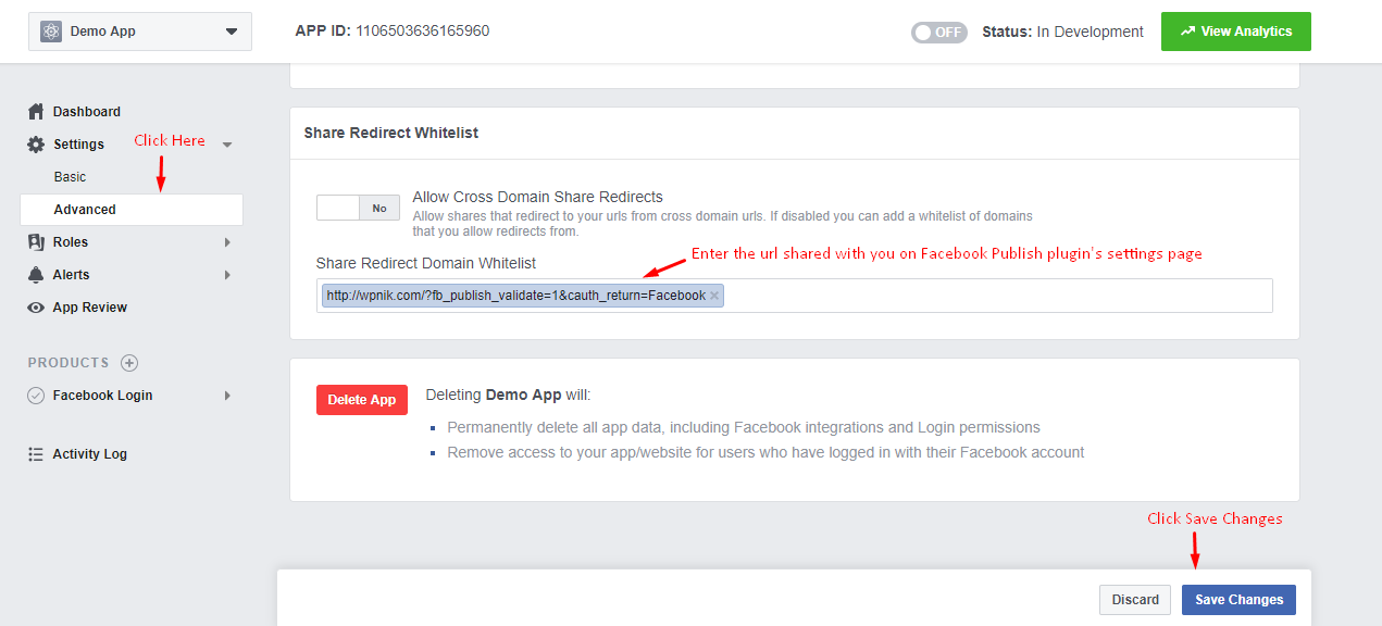 How to create a Facebook APP ID and Secret key – Pramod Jodhani